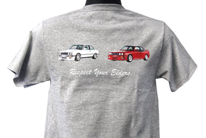 "BMW E30 ""Respect Your Elders"" T-Shirt"