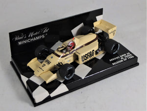 Paul's Model Art 1:43 Arrows BMW A8 #17, 1986 Belgium GP M. Surer