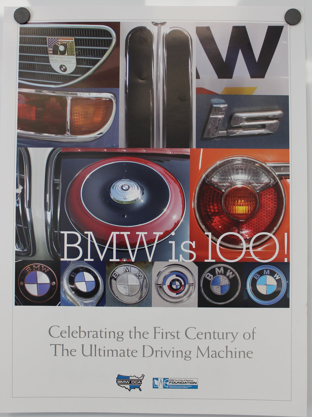 Poster - BMW is 100! Celebrating the First Century of The Ultimate Driving Machine