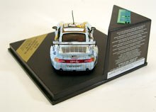 Load image into Gallery viewer, Vitesse 1:43 Wht/bluPorsche 1998 911 GT2 Le Mans Naked Lady #68