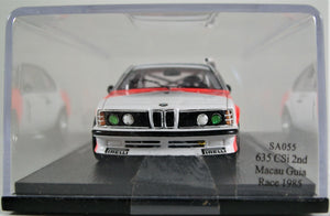 Spark 1:43 BMW 635 CSi #1, 2nd Macau Guia Race 1985