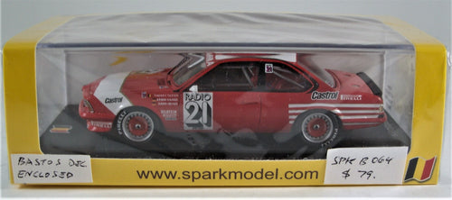Spark 1:43 BMW 635 CSi #21, Winner 24h SPA 1983