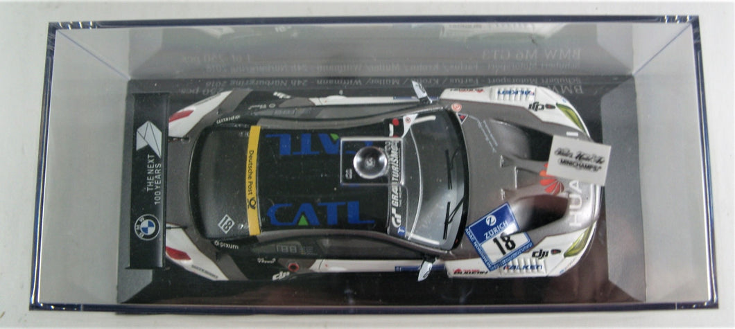 Minichamps 1:43 BMW M6 GT3 Schubert Motorsport 24h Nurburgring 2016. 1 of 250