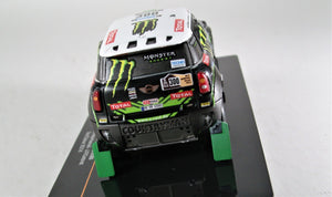 IXO 1:43 MINI ALL 4 RACING #300 2nd Dakar 2014