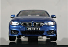Load image into Gallery viewer, BMW 1:43 F32 4 Series Coupe - Estoril Blue.