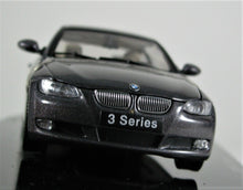 Load image into Gallery viewer, AUTOart 1:43 BMW 2005 3 Series Coupe - Sparkling Graphite Metallic.