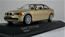 Load image into Gallery viewer, Minichamps 1:43 1999 BMW E46 328 Coupe - Gold Metallic. 1 of 1,536