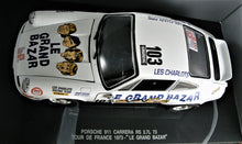 Load image into Gallery viewer, 1:18 White Porsche 911 Carrera RS 2.7L 73