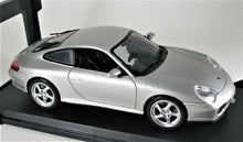 Load image into Gallery viewer, 1:18 Silver Porsche 911 Carrera 4S