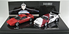 Load image into Gallery viewer, 1:43 White  BMW  E26 1979 M1 ProCar #25 & M1 road car