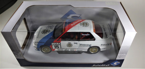Solido 1:18 1989 DTM Champion BMW E30 M3