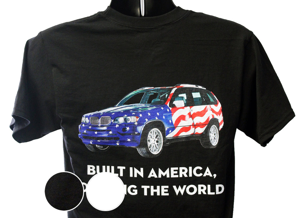 BMW X5 USA T-Shirt