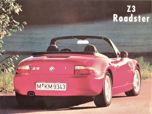 Poster - Z3 Roadster - Rear View