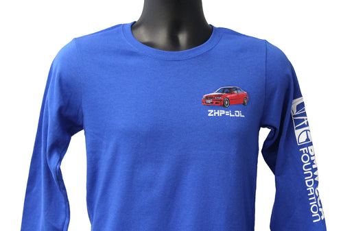 BMW E46 ZHP 330i Long Sleeve Ladies T-shirt