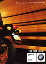 Load image into Gallery viewer, Make every tunnel a wind tunnel. - 2004/2005 Full Model Line BMW Motorcycle Brochure - S 10.3