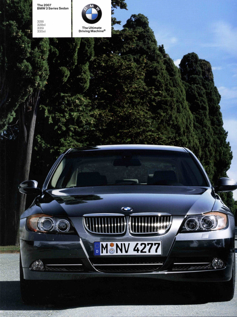 Brochure - 2007 BMW 3 Series Sedan 328i 328xi 335i 335xi - E90