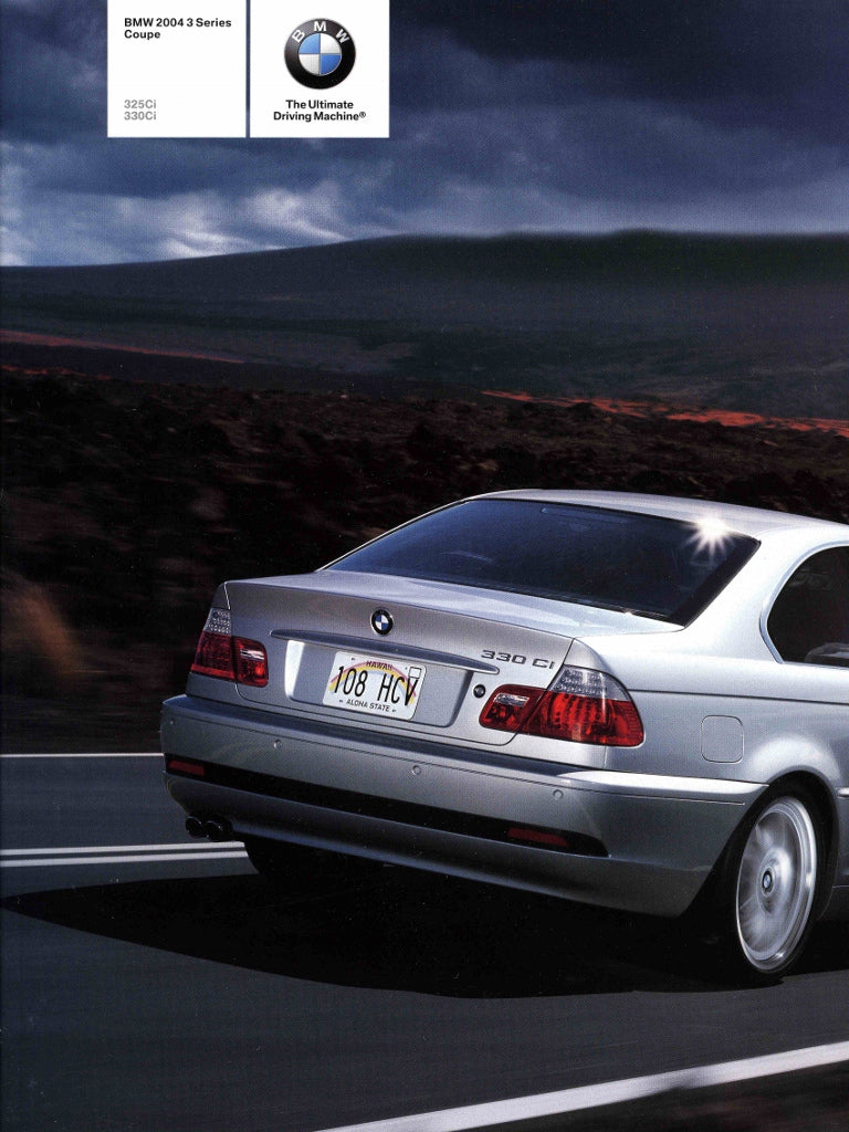 Brochure - BMW 2004 3 Series Coupe 325Ci 330Ci - E46 (2nd Version)