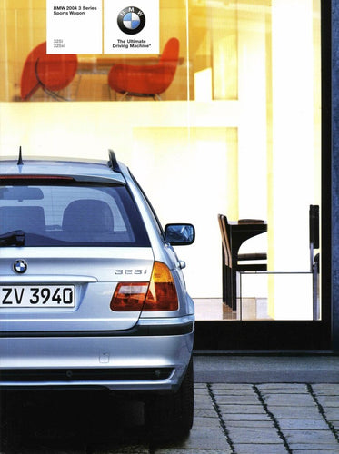 Brochure - BMW 2004 3 Series Sports Wagon 325i 325xi - E46 Brochure