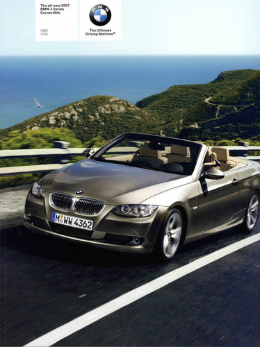 Brochure - The all-new 2007 BMW 3 Series Convertible 328i 335i - E93 Brochure (2nd version)