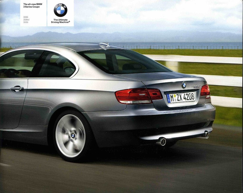 Brochure - The all-new 2007 BMW 3 Series Coupe 328i 328xi 335i - E92 Brochure (small version)