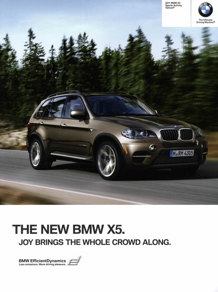 Brochure - 2011 BMW X5 Sports Activity Vehicle Brochure - E70 Brochure