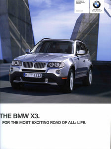 Brochure - 2010 BMW X3 Sports Activity Vehicle X3 xDrive30i - E83 Brochure (1st version)