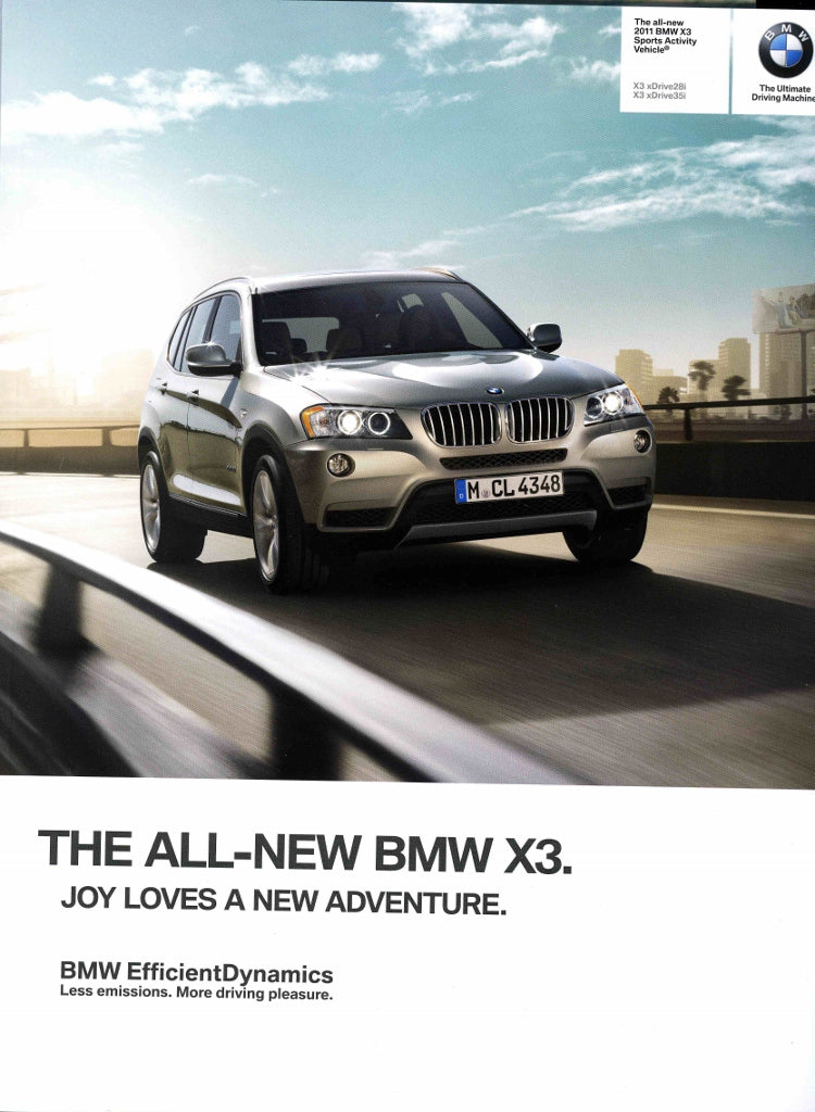 Brochure - The all-new 2011 BMW X3 X3 xDrive28i X3 xDrive35i - F25 Brochure (1st version)
