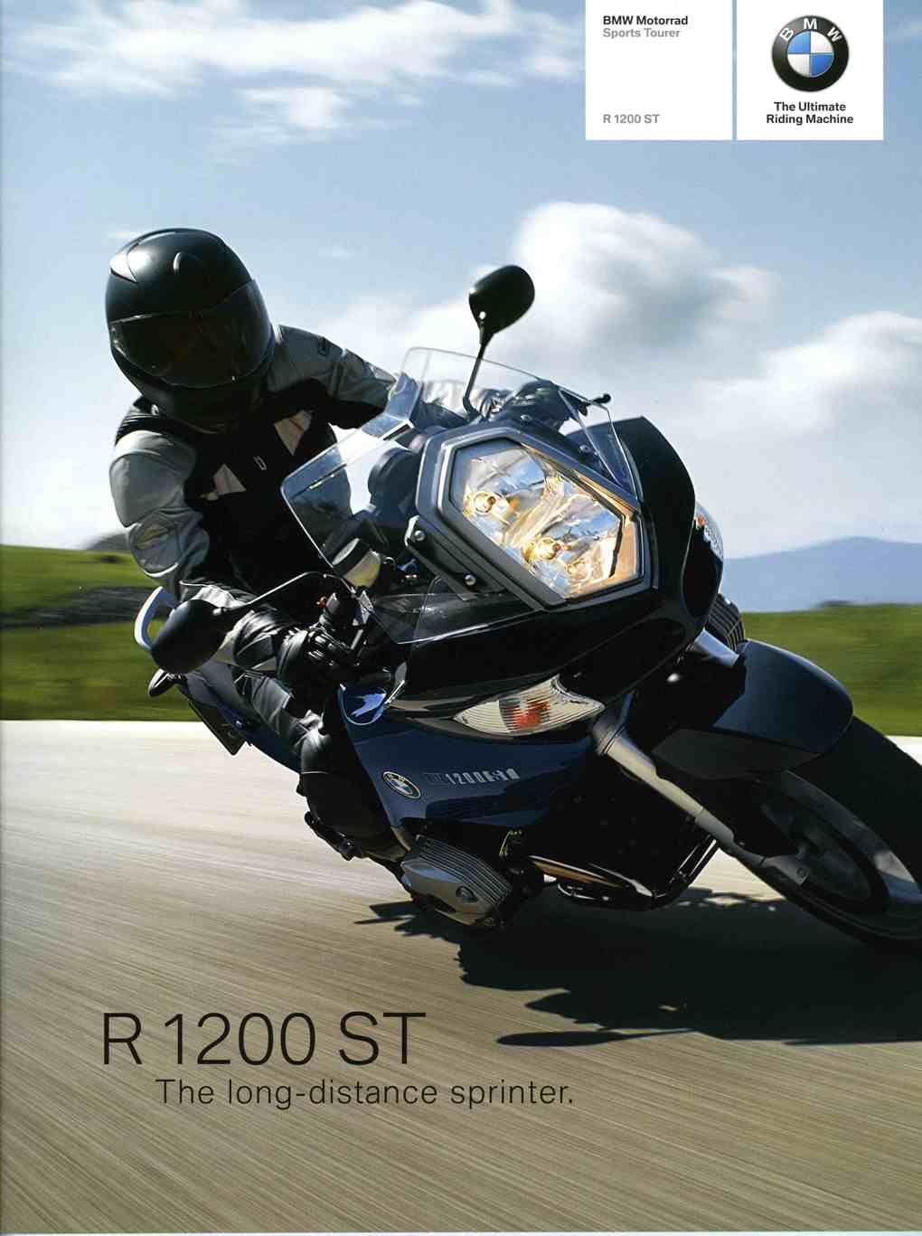 Brochure - BMW Motorrad Sports Tourer R 1200 ST – 2005 R1200ST Brochure