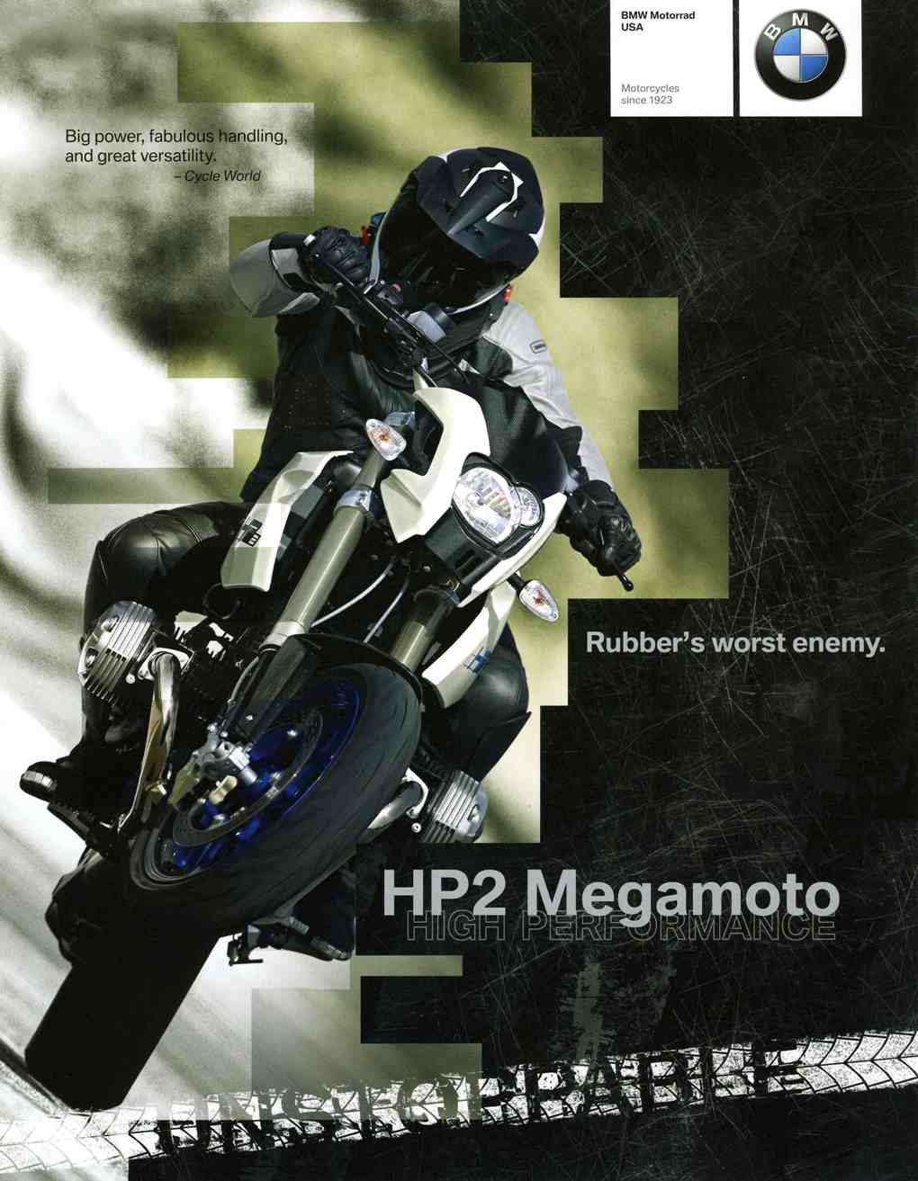Brochure - 2009 HP2 Megamoto Brochure