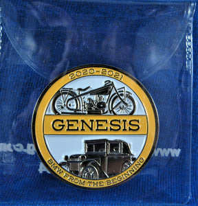 Genesis Commemorative Coin