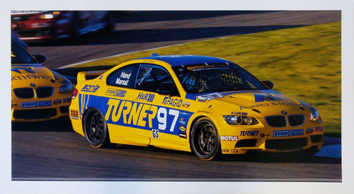 Poster - Turner Motorsport - BMW E46 M3 #97