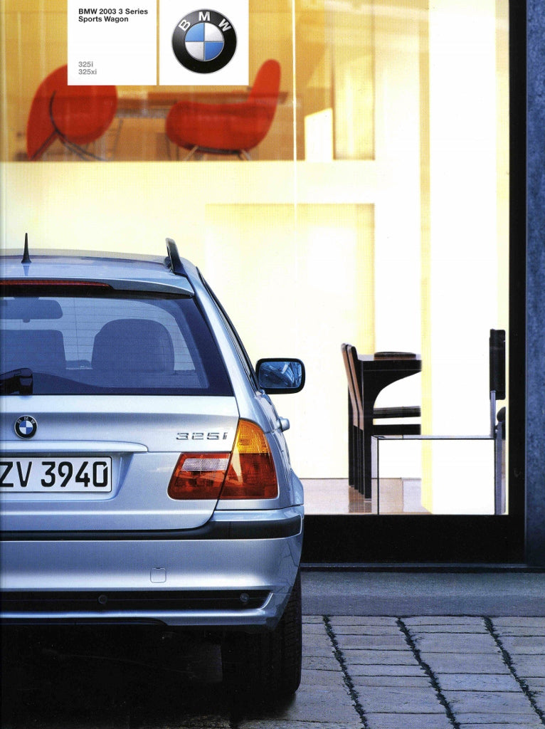 Brochure - BMW 2003 3 Series Sports Wagon 325i 325xi - E46