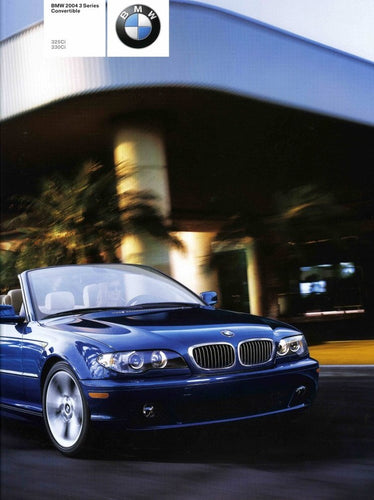 Brochure - BMW 2004 3 Series Convertible 325Ci 330Ci (E46 1st Version)