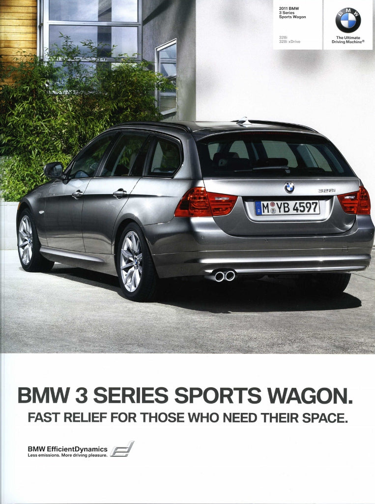 Brochure - 2011 BMW 3 Series Sports Wagon 328i 328i xDrive - E91 (2nd version)