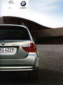 Brochure - 2008 BMW 3 Series Sports Wagon 328i 328xi - E91 (1st version)