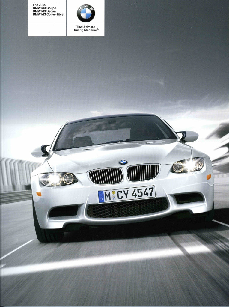 Brochure - The all-new 2008 BMW M3 Coupe M3 Sedan - E90 / E92 Brochure (2nd version)