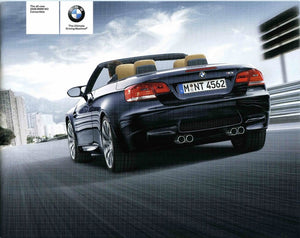 Brochure - The all-new 2008 BMW M3 Convertible - E93 Brochure (small version)