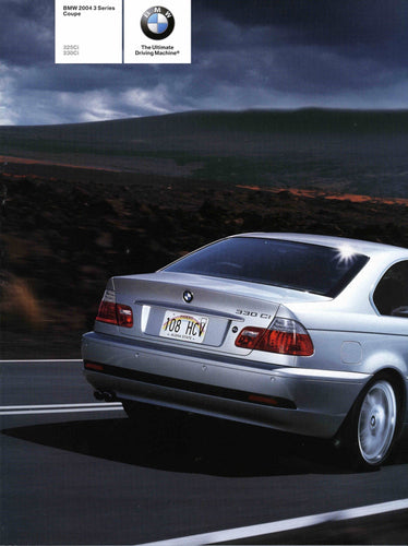 Brochure - BMW 2004 3 Series Coupe 325Ci 330Ci - E46 (1st version)