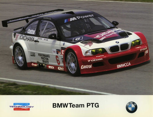 Signature Card - 2001 BMW Team PTG