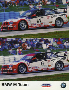 Signature Card - 1998 BMW M Team Prototype Technology Group