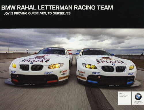 Signature Card - 2010 BMW Rahal Letterman Racing Team
