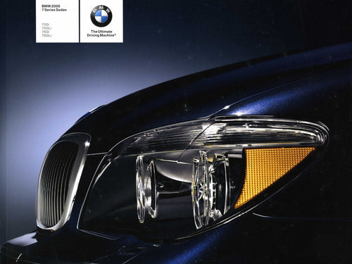 Brochure - BMW 2006 7 Series Sedan 750i 750Li 760i 760Li - E65 / E66 Brochure