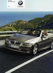 2009 BMW 3 Series Convertible 328i 335i - E93 Brochure - S 7.4
