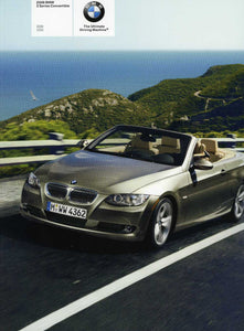 Brochure - 2008 BMW 3 Series Convertible 328i 335i - E93 (1st version)