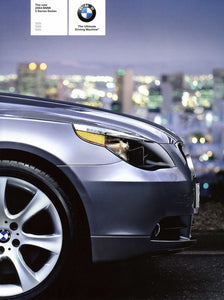 Brochure - The new 2004 BMW 5 Series Sedan 525i 530i 545i - E60 Brochure (2nd version)