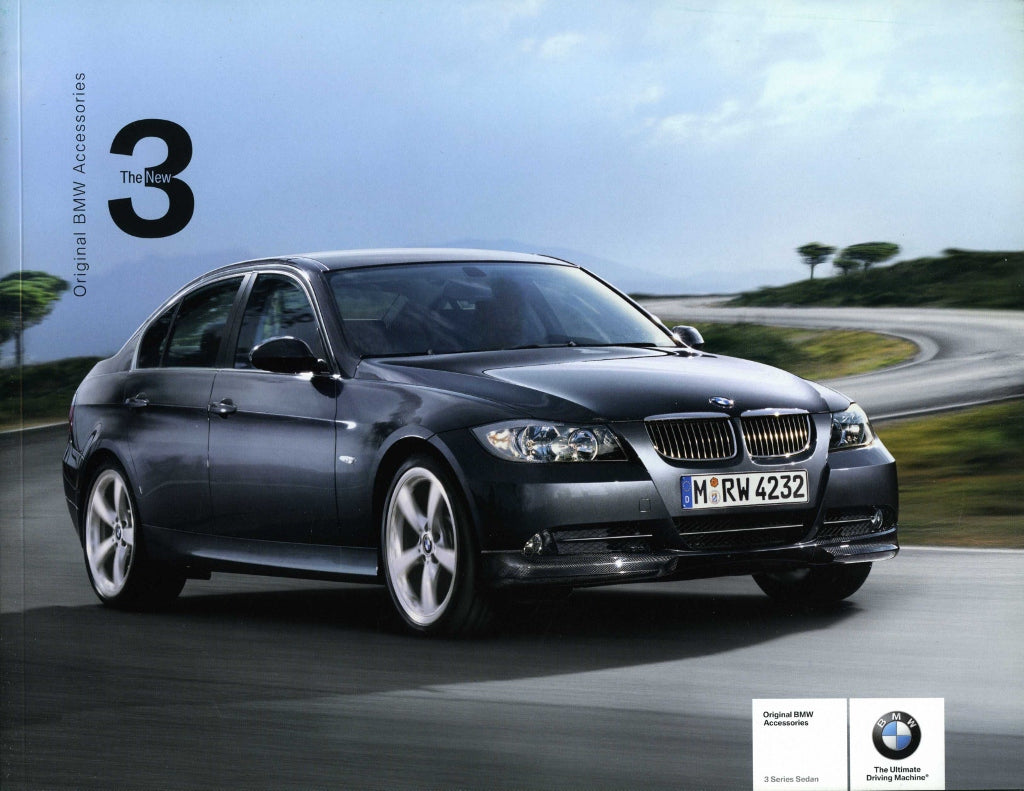 Original BMW Accessories 3 Series Sedan - 2005 E90 Brochure - S 10.5