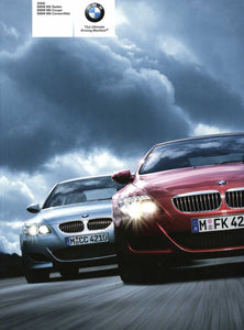 2008 BMW M5 Sedan BMW M6 Coupe BMW M6 Convertible - E60 M5 & E63 / E64 M6 Brochure (1st version) - S 9.3