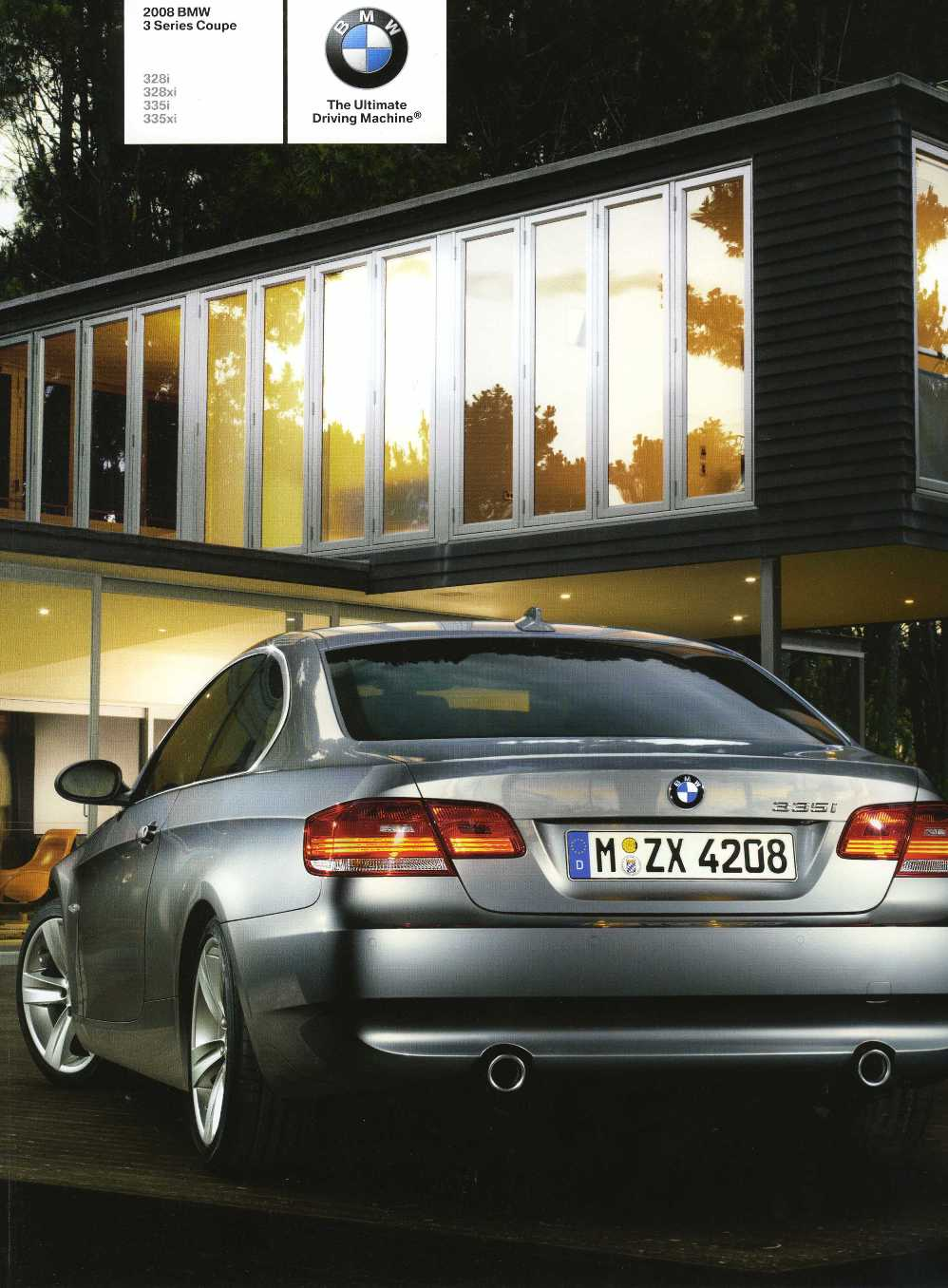 Brochure - 2008 BMW 3 Series Coupe 328i 328xi 335i 335xi - E92 (2nd version)