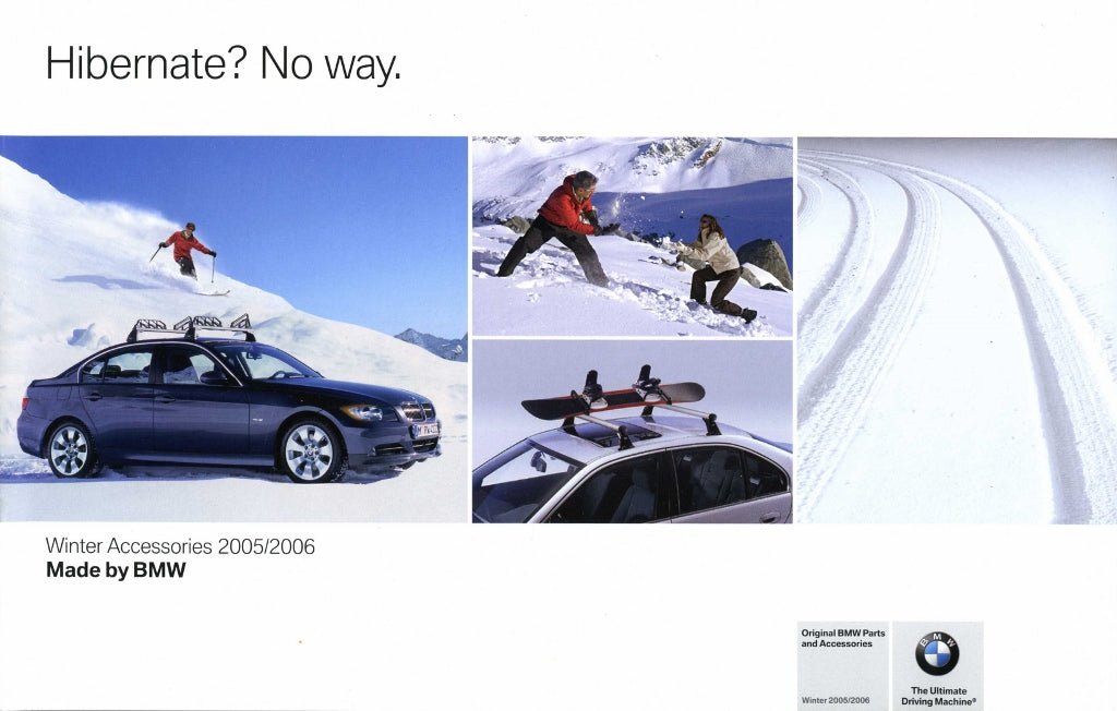Brochure - Original BMW Parts and Accessories Winter Accessories 2005/2006 Brochure