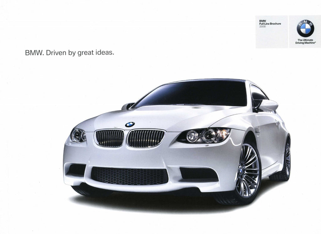 Brochure - BMW Full Line Brochure 2008